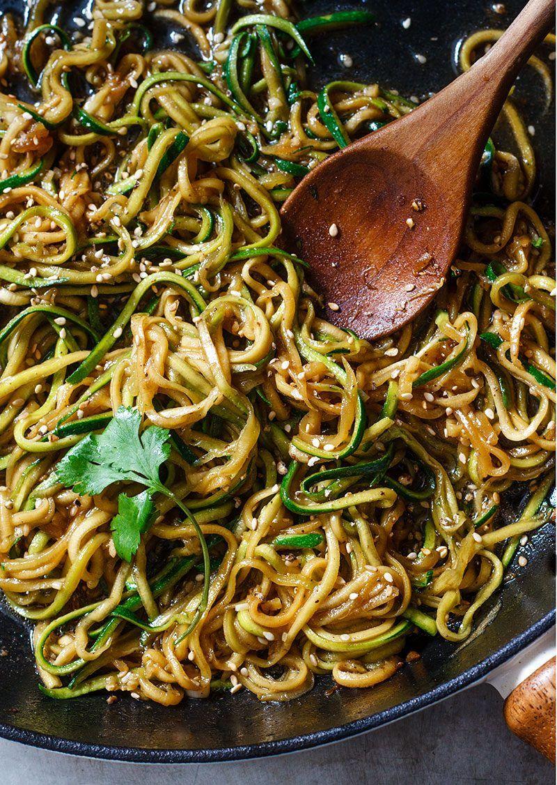 Teriyaki Zucchini Noodles images