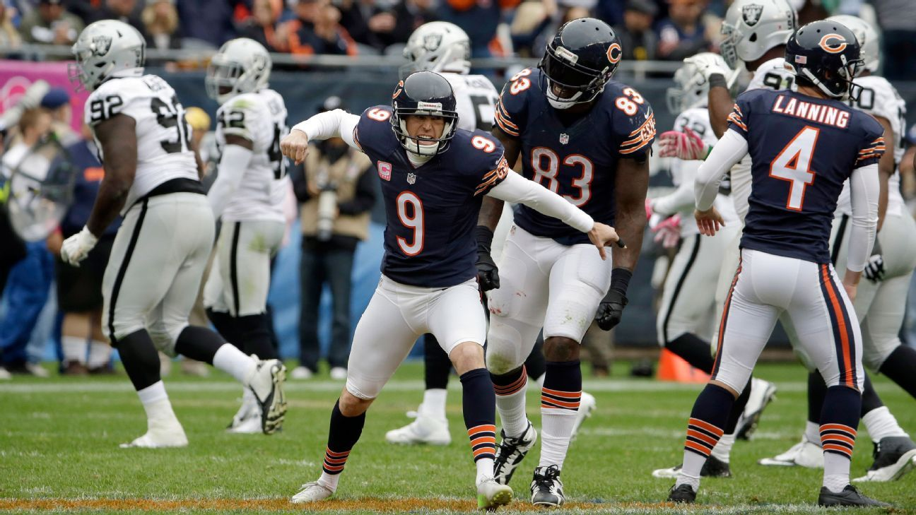 Bears Release Record Holding Kicker Gould Robbie Gould Chicago Bears Football Helmets