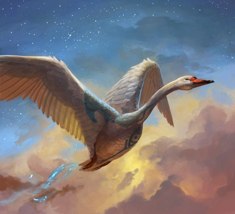 Peter Mohrbacher Swan Song Peter Mohrbacher Fantasy