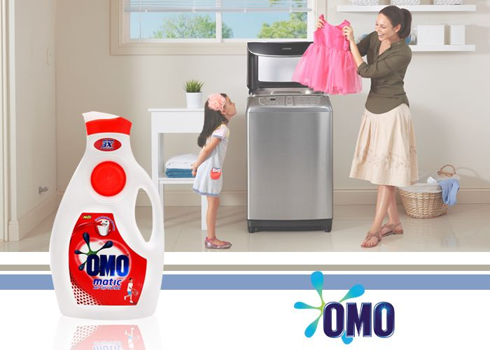 OMO MATIC WITH SMART WASHING BALLS DETERGENT LIQUID Product Detail