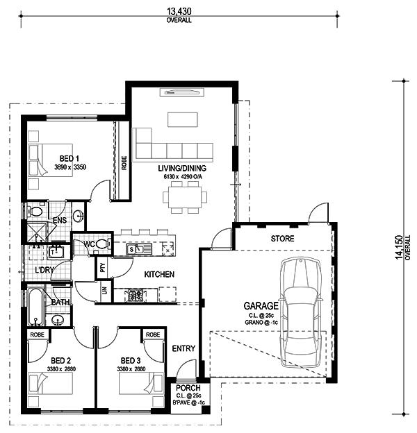 The Block Houses Floor Plans