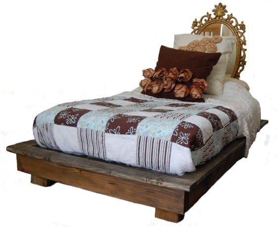 Weird Shaped Beds diy toddler platform bed- crib mattress size | diy fun | pinterest