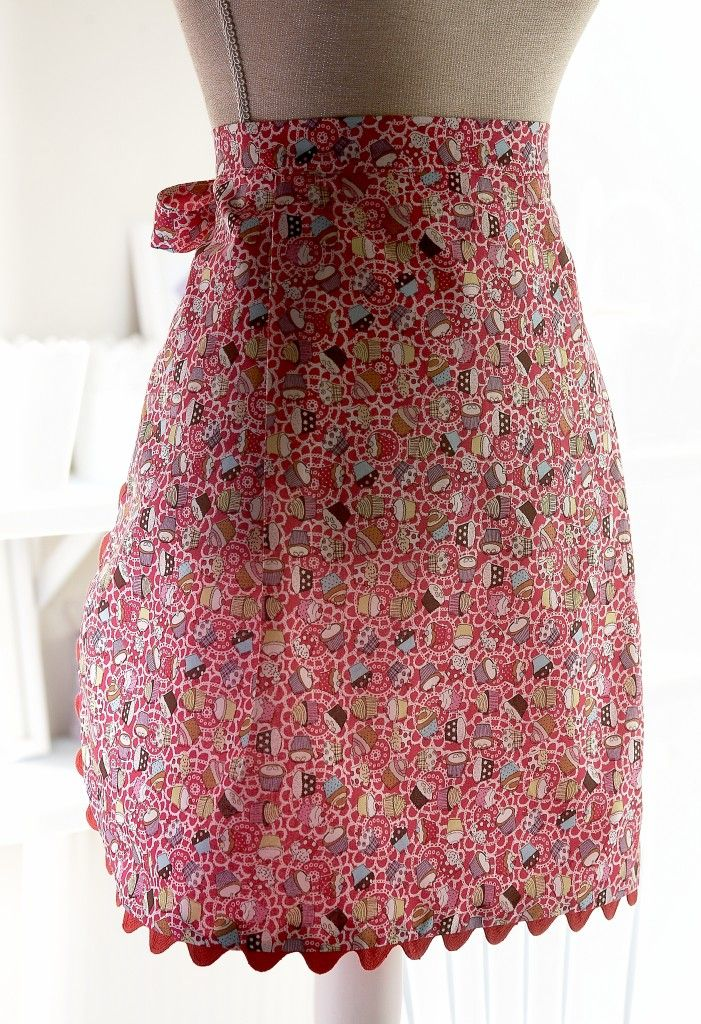 Quick and easy apron tutorial
