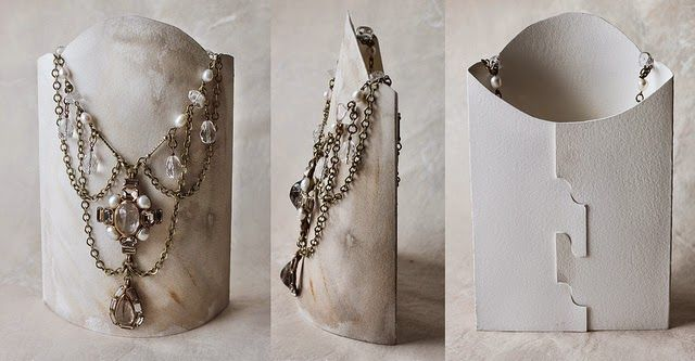 Tutorial de Artesanías: Tres bustos expositores para tus collares ...