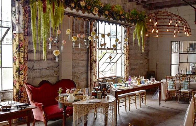 Gorgeous Boho Wedding Venue Just A Skip From Chicago Industrial