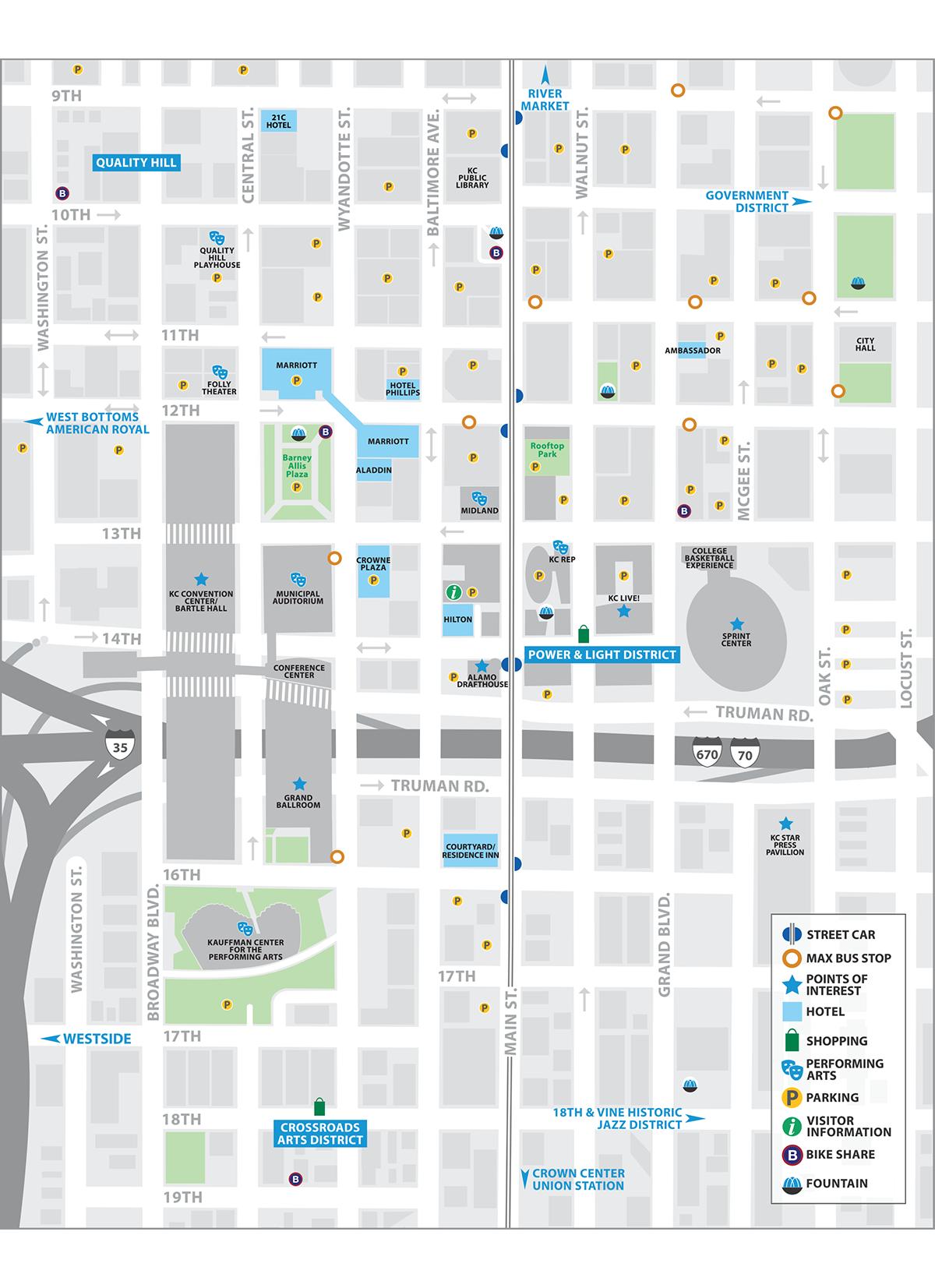 KC streetcar map | travelling | Kansas city downtown, Kansas, Kansas on kc rail map, kc bus map, la streetcar map, dc streetcar map, kc metro map, portland streetcar map,