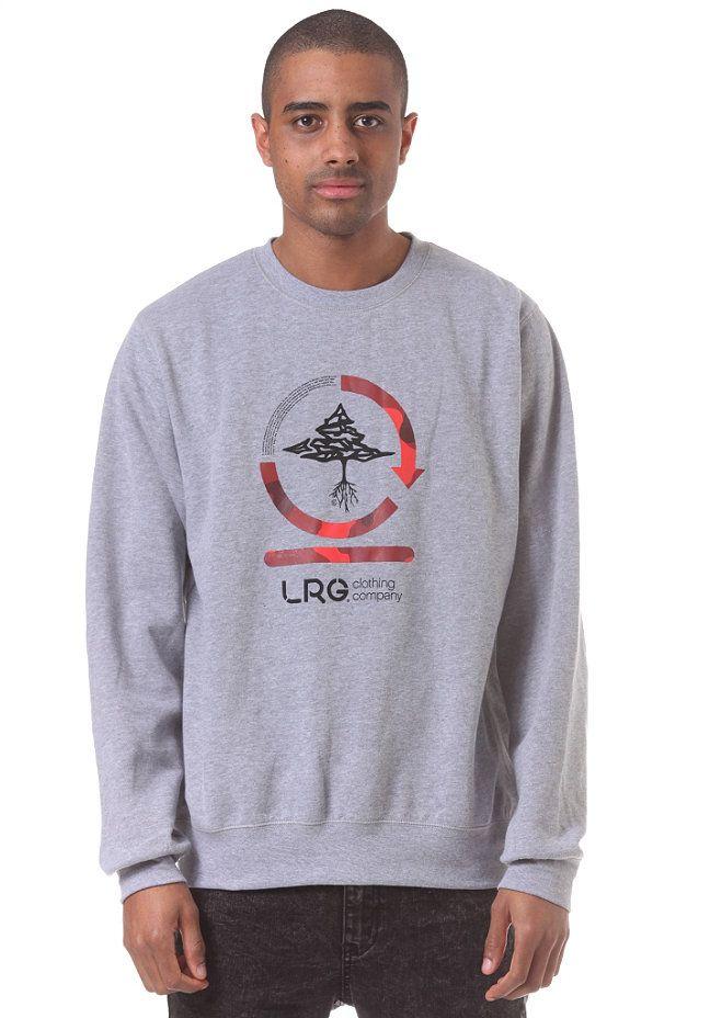 #planetsports LRG CC Two Crewneck Sweatshirt ash heather