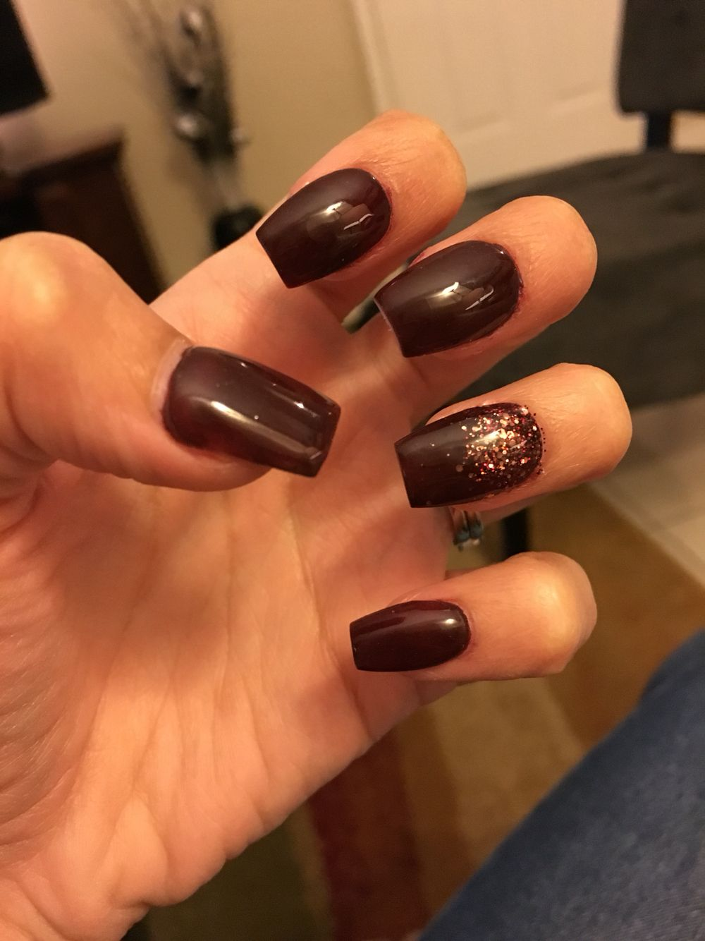 Fall themed nails | Looking good | Pinterest