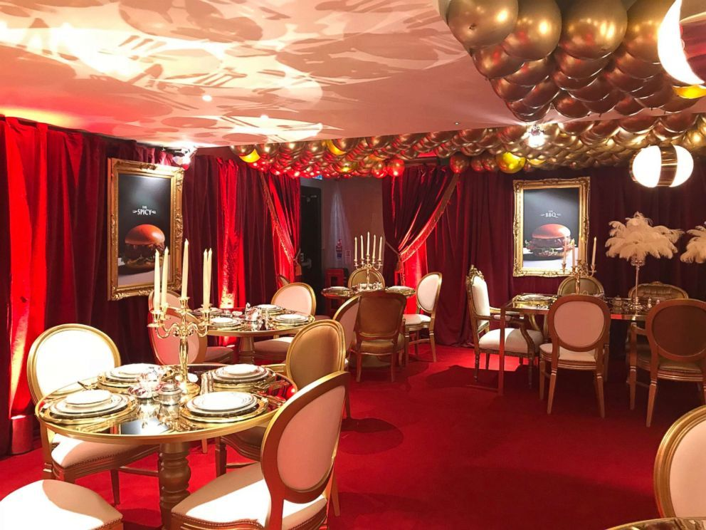 Reservations required London McDonald's goes luxe for a