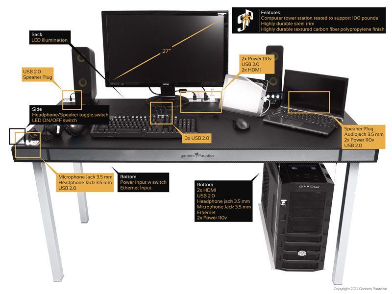 explore gaming desk computer desks and more
