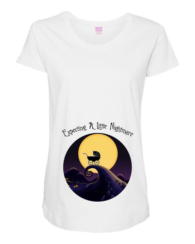 a4b3e650f9255 Dylan's Designs Inc Maternity Nightmare Before Christmas Maternity Shirt /  Disney Halloween Maternity