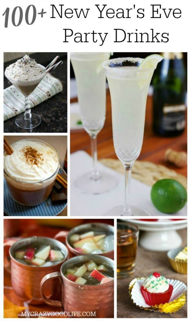 New Years Eve Party Drinks | New years eve drinks, Party ...