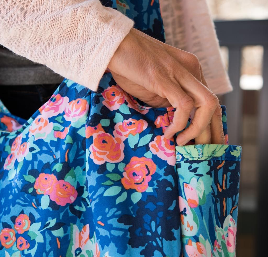 Amy Butler Reversible Sunday Sling Bag - None | I wanna make this ...