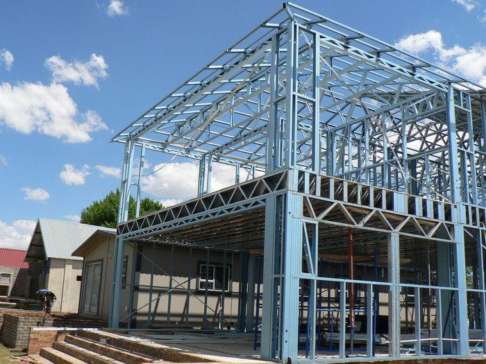 Clotan Steel Pre Engineered Steel Frame Buildings Lsf