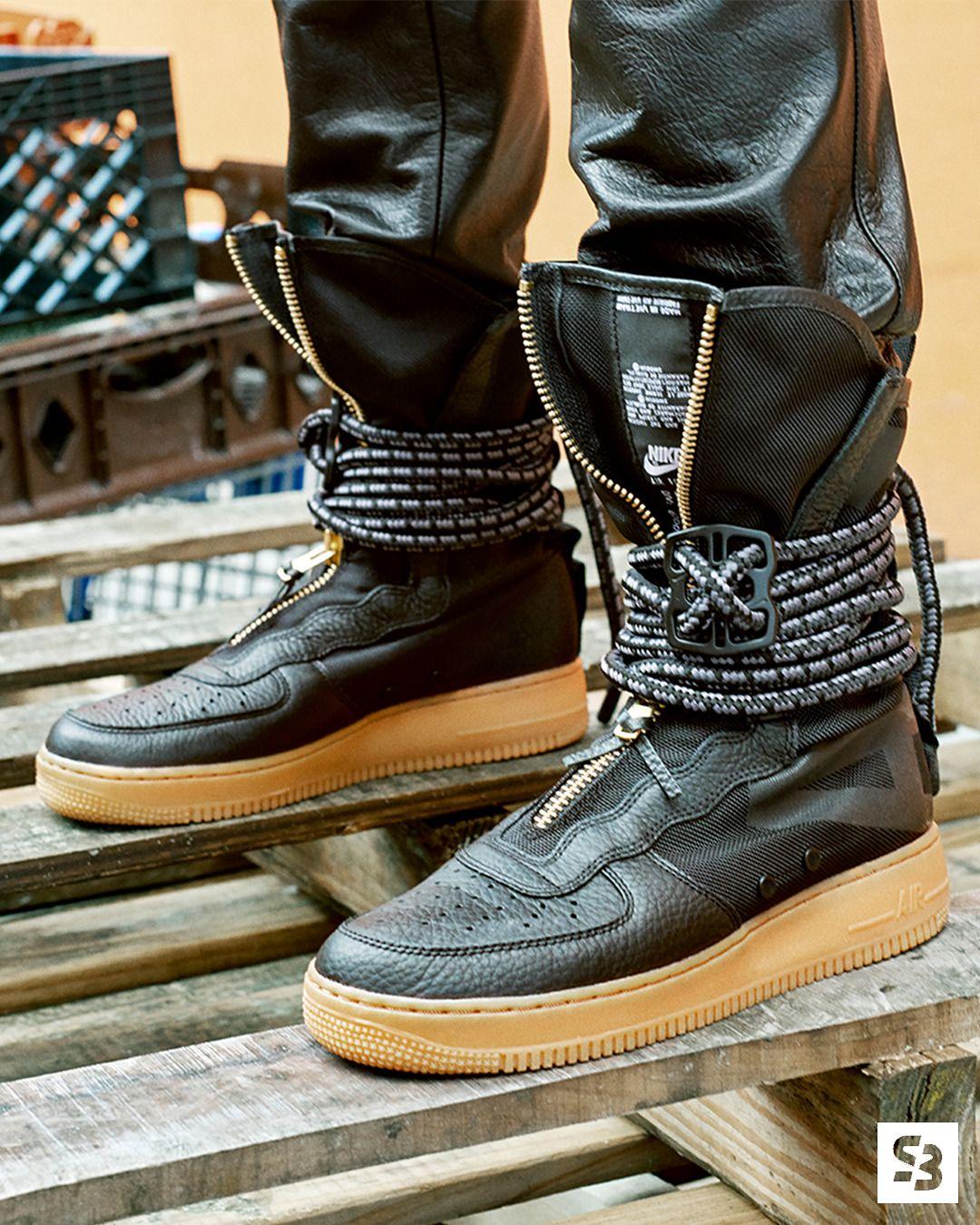 Nike Sf Af 1 High Sf By Blog Sneakerando Com Sneakers Sneakernews Streetstyle Kicks Adidas Nike Vans Newbala Sneakers Men Fashion Mens Fashion Shoes Nike Boots