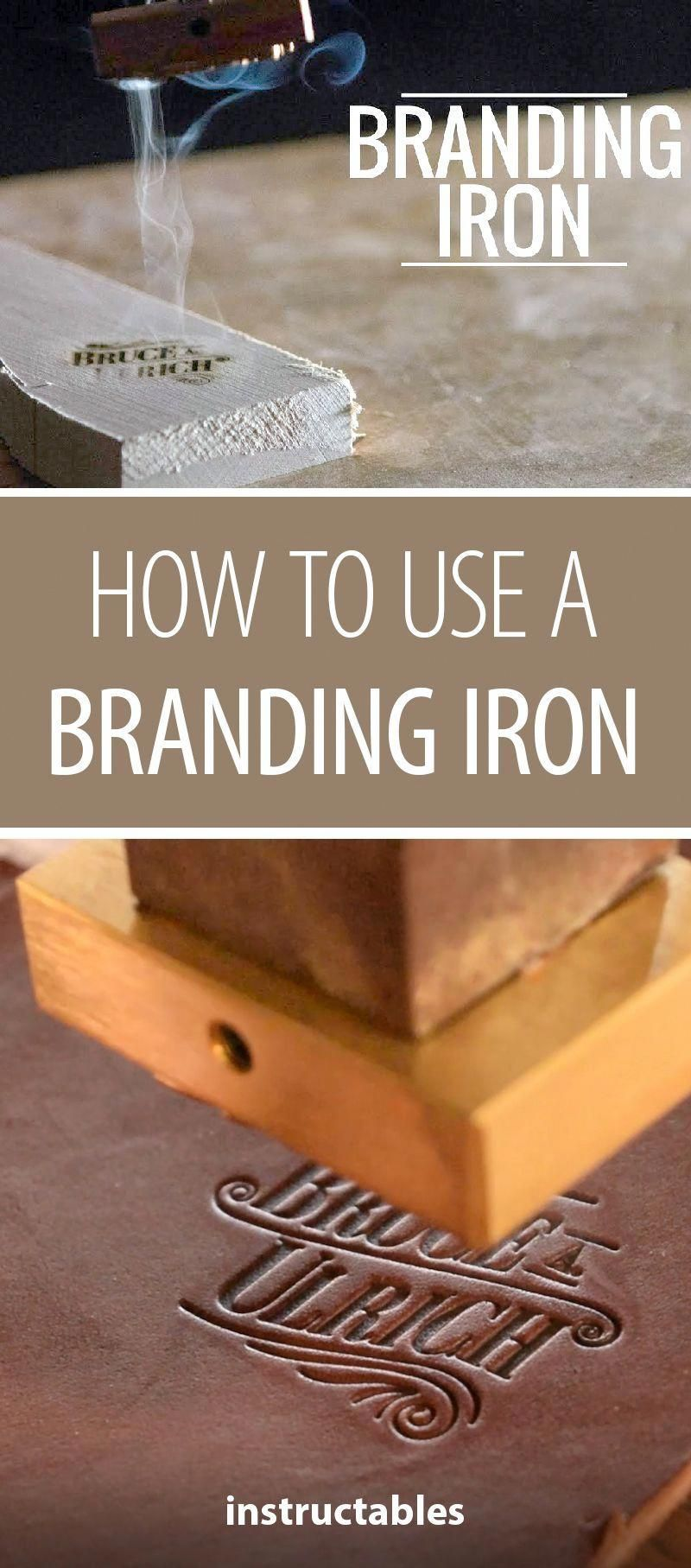 How to Use a Branding Iron #woodworking #workshop #DiyWoodProjectsEasyChristmasGifts