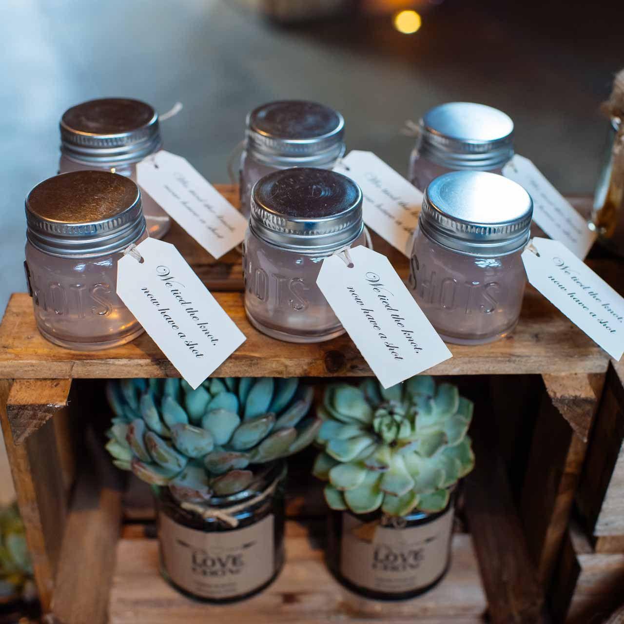 Shot Glass Wedding Favours Wedding favors, Popcorn