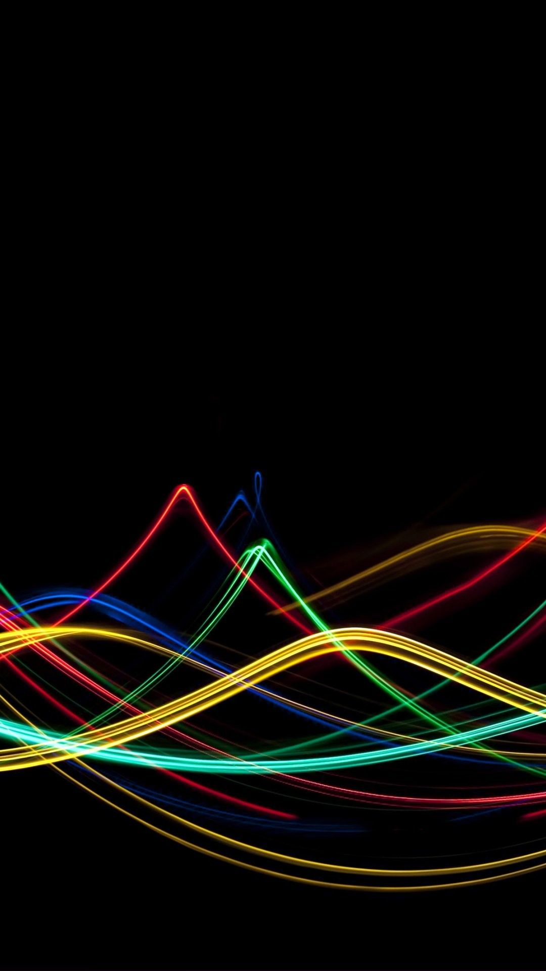 Neon Lights iPhone 6 Plus Wallpaper 24351 - Abstract ...