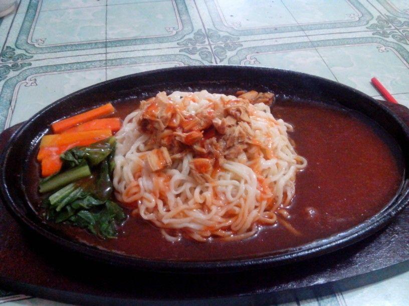Mie Hot Plate Kuliner Indonesia Makanan Dan Minuman Makanan