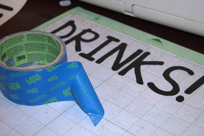 How To Transfer Vinyl WITHOUT Transfer Paper Someday Ill Have - How to make vinyl decals without cricut