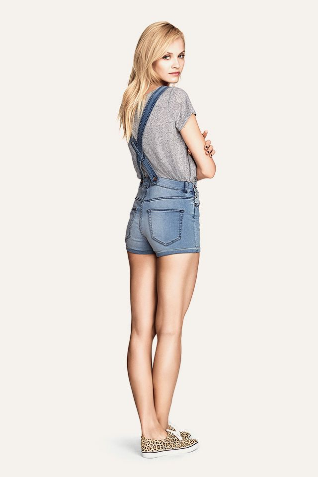 Short overalls! HM. #HMDIVIDED