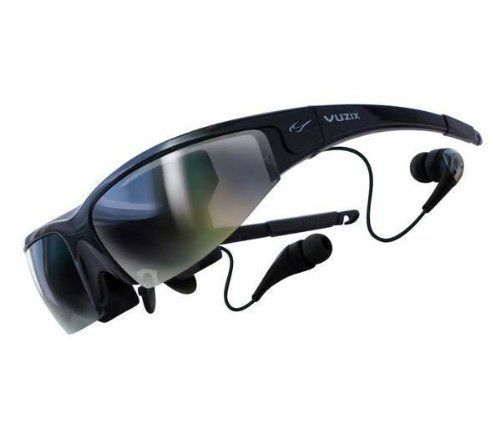 """Vuzix Corp. Wrap 920 by Vuzix. $279.99. The Vuzix Corp Wrap 920 Video Eyewear, 67"""" Screen as seen from 10 feet, displays crystal clear 2D and 3D video while sitting by the pool or in an airplane at 35,000 feet. with support for standard 2D movies as well as virtually all common 3D video formats, you'll be able to watch all the latest movie releases, as they were meant to be seen. Vuzix' Wrap 920 eyewear connects to all NTSC or PAL audio/video devices with video-out c..."""