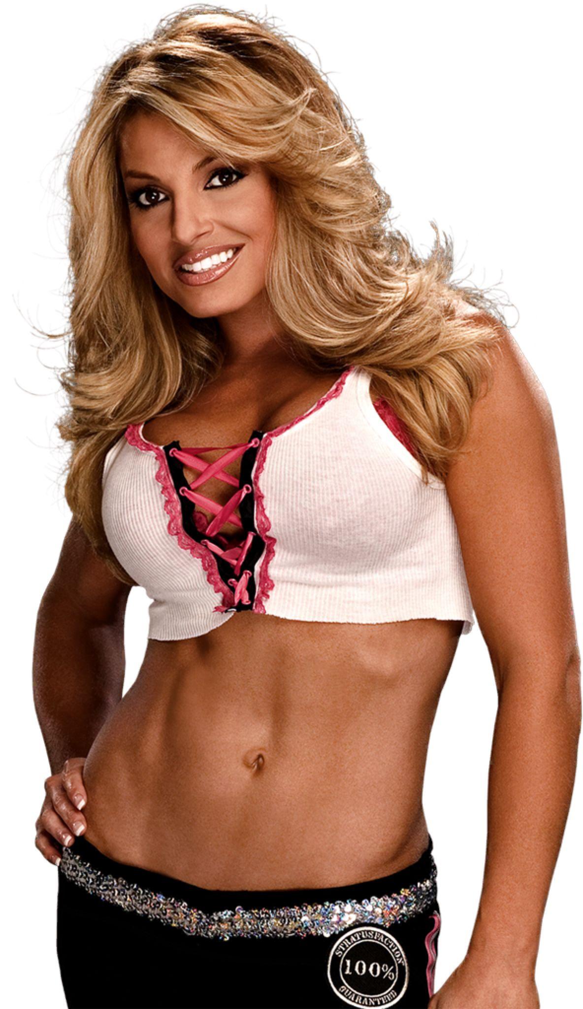 Trish Stratus Png By Ambriegnsasylum16 On Deviantart Trish Stratus Female Wrestlers Fitness Model