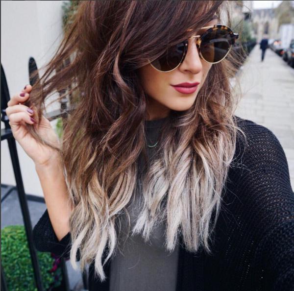 Gut bekannt Tie and Dye brun et gris, du génie ! Modèle : Amelia Liana | Hair  YY62