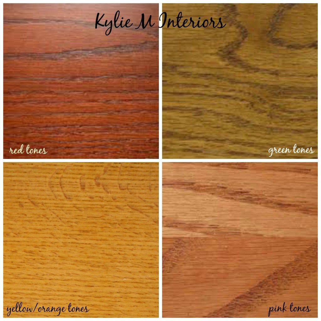 How to Mix, Match and Coordinate Wood Stains / Undertones | This Old ...