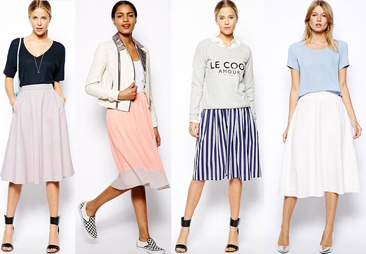 17 Best images about Skirt outfit ideas on Pinterest | Full midi ...