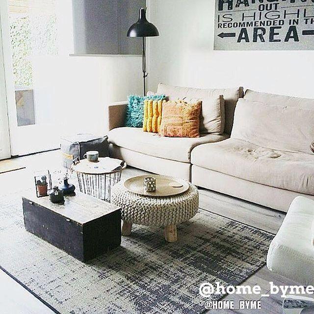 Meubels om je woonkamer sfeer te geven bekijk onze top 10 mooiste woonkamers voor inspiratie - Gang wit en grijs ...