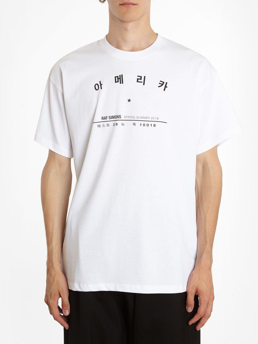 5ffd3aa8 Raf Simons T-shirts 18112019000 00010 | Raf Simons | Shirts, Raf ...
