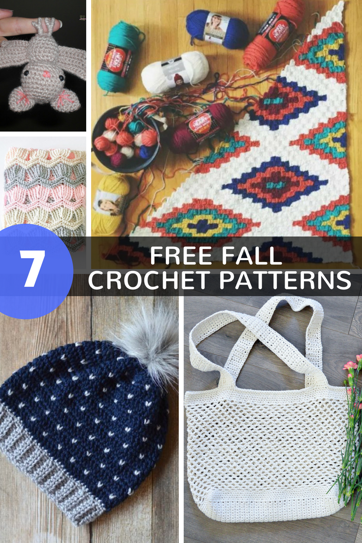 7 Free Crochet Patterns For Fall 2017 Kaijumaddy Fall Crochet Patterns Crochet Patterns Free Beginner Free Crochet
