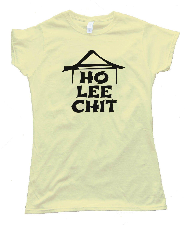 Womens HO LEE CHIT CHINESE RESTAURANT - Tee Shirt Gildan Softstyle