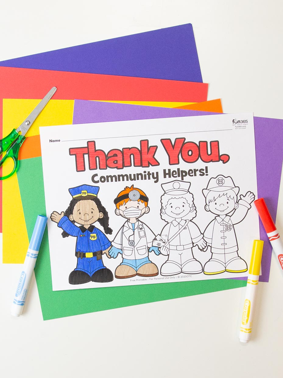 Free Community Helpers Coloring Pages Fun365 In 2020 Community Helpers Theme Community Helpers Diy Wedding Projects