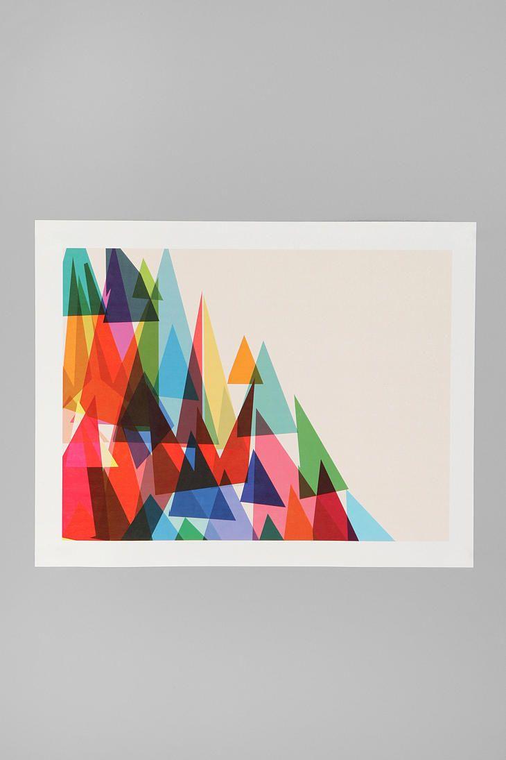 Cynthia Alvarez For Society6 Mixed Shades Print  #UrbanOutfitters