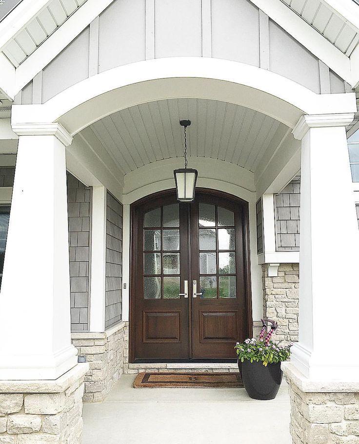 image result for industrial craftsman house entry