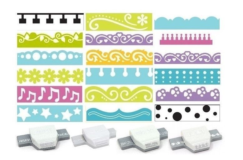 """1/""""inch Daisy Shape Paper Craft Lever Corner Punch Scrapbooking Cards Arts NEW"""