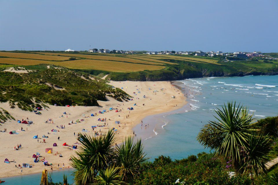 Crantock Beach, Cornwall | Camping cornwall, Crantock ...