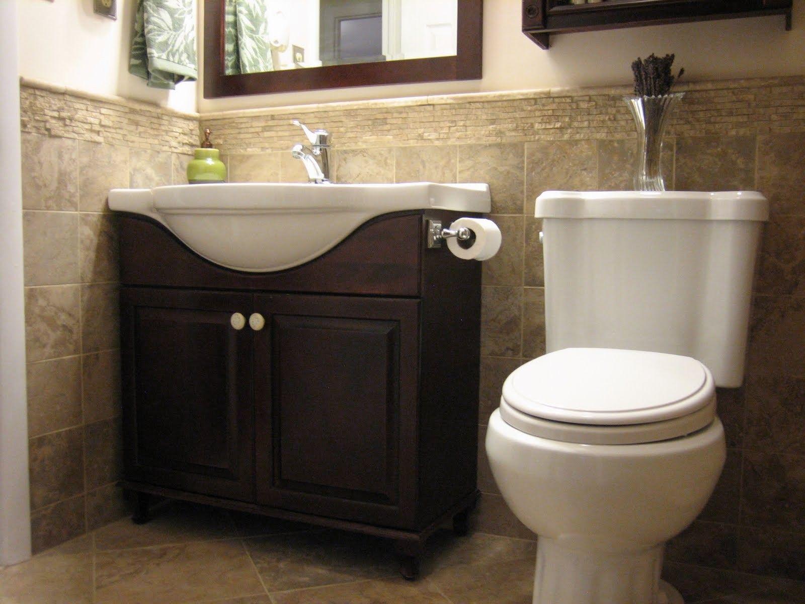 fascinating half bath decorating ideas bathroom | Fresh Small Half Bathroom Designs On Bathroom With Half ...