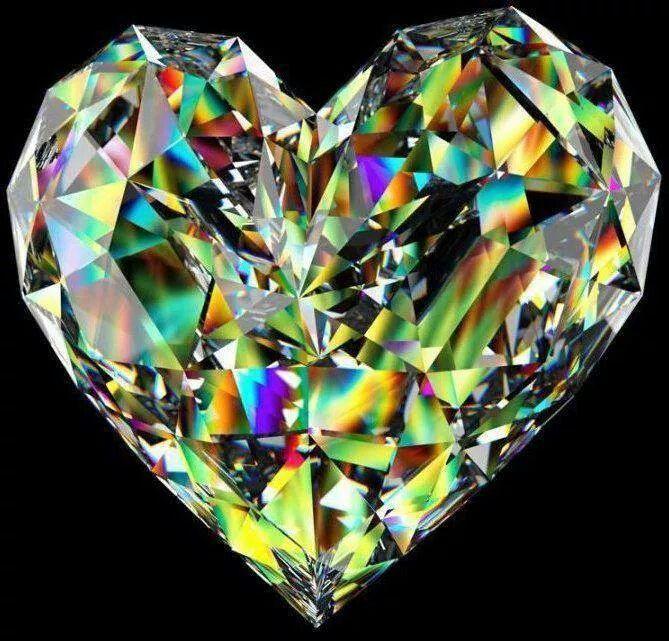 можно кристаллические сердца с фотографиями том