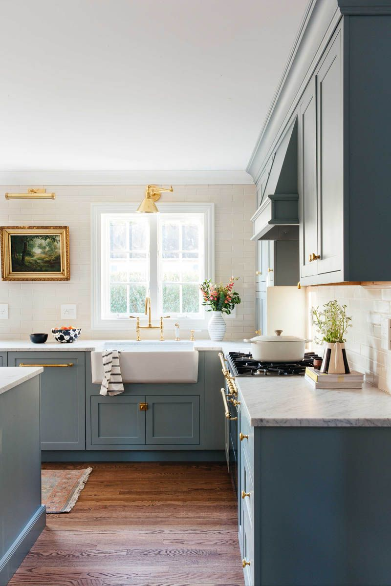 Colonial Kitchen Transformation With Inset Cabinetry In 2020 Inset Cabinetry Kitchen Transformation Colonial Kitchen
