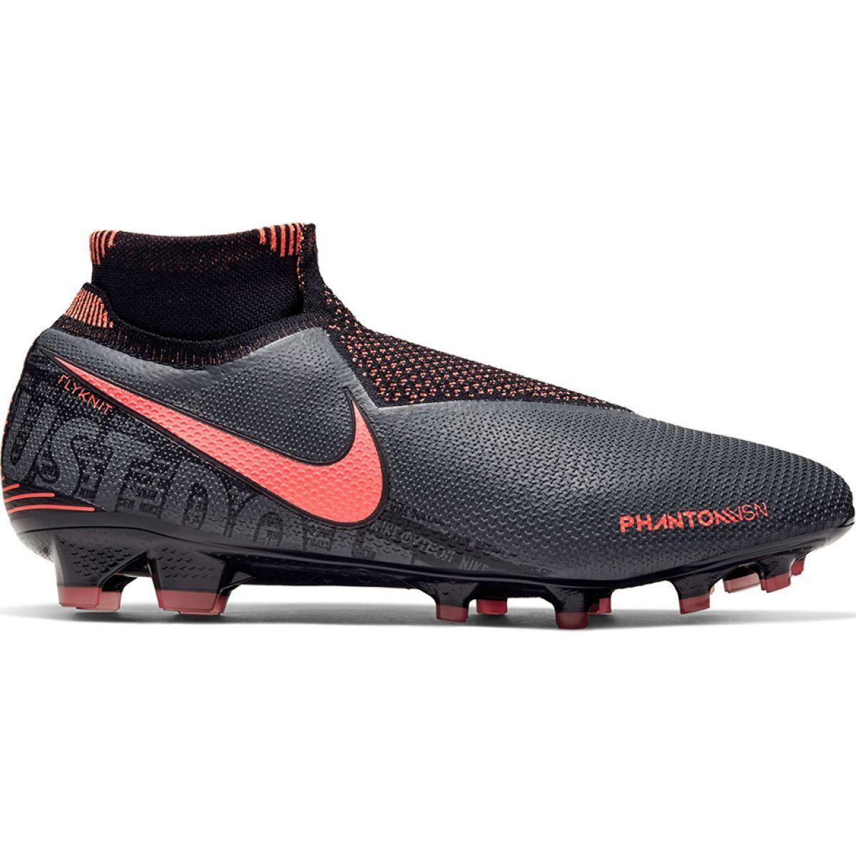 Buty Pilkarskie Nike Phantom Vsn Elite Df Fg M Ao3262 080 Czarne Wielokolorowe Football Shoes Mens Football Boots Nike