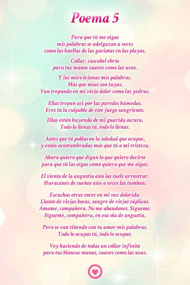 57 Ideas De Poemas De Amor Poemas De Amor Poemas Versos