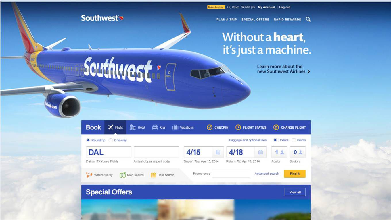 it assesment for southwest airlines Southwest airlines airlines has also shown flexibility in addressing the needs of its customers it has now decided to go in for 737-800 because they would improve scheduling southwest airlines has been successful because it has eliminated services that were not valued by the customers and.
