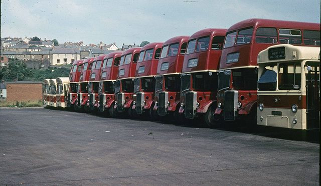 Radiators As Far As The Eye Can See With Images Bus Coach Leyland Merthyr Tydfil