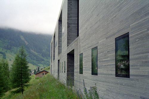 Thermal Baths Vals, Graubünden, Switzerland, 1996   Peter Zumthor