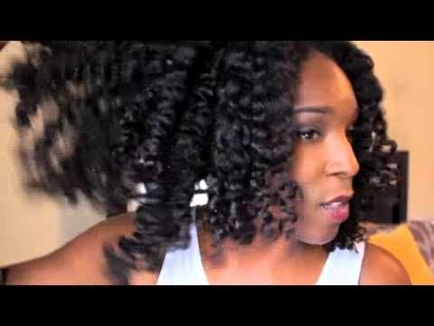 Natural Hair My Ultimate Braid Out A Good Hair Day With Blue