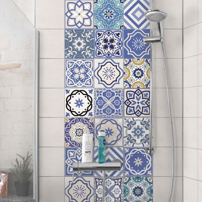 Fliesenaufkleber Fur Bad 21 Kreative Ideen Zur Erfrischung Badezimmer Deko Feiern Zenideen Fliesenaufkleber Badezimmereinrichtung Minimalistisches Badezimmer