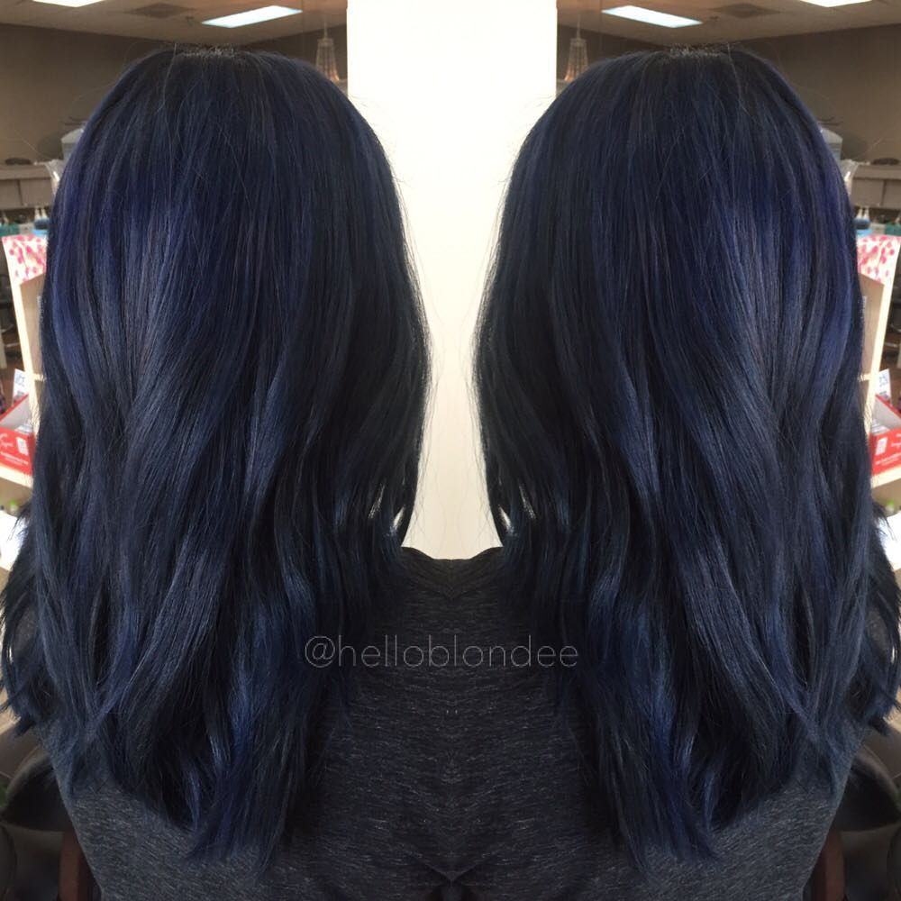 midnightblue hair ideas that will inspire your next moody look